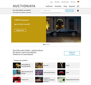 Auctionata.de Screenshot