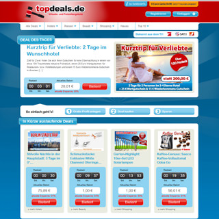 Topdeals.de Screenshot