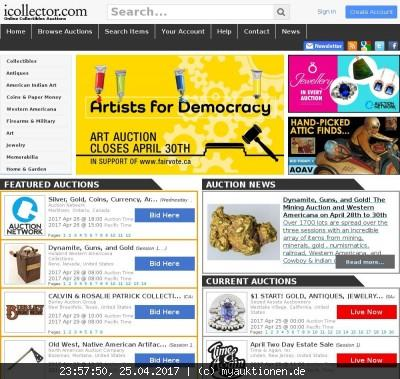 icollector.com Screenshot